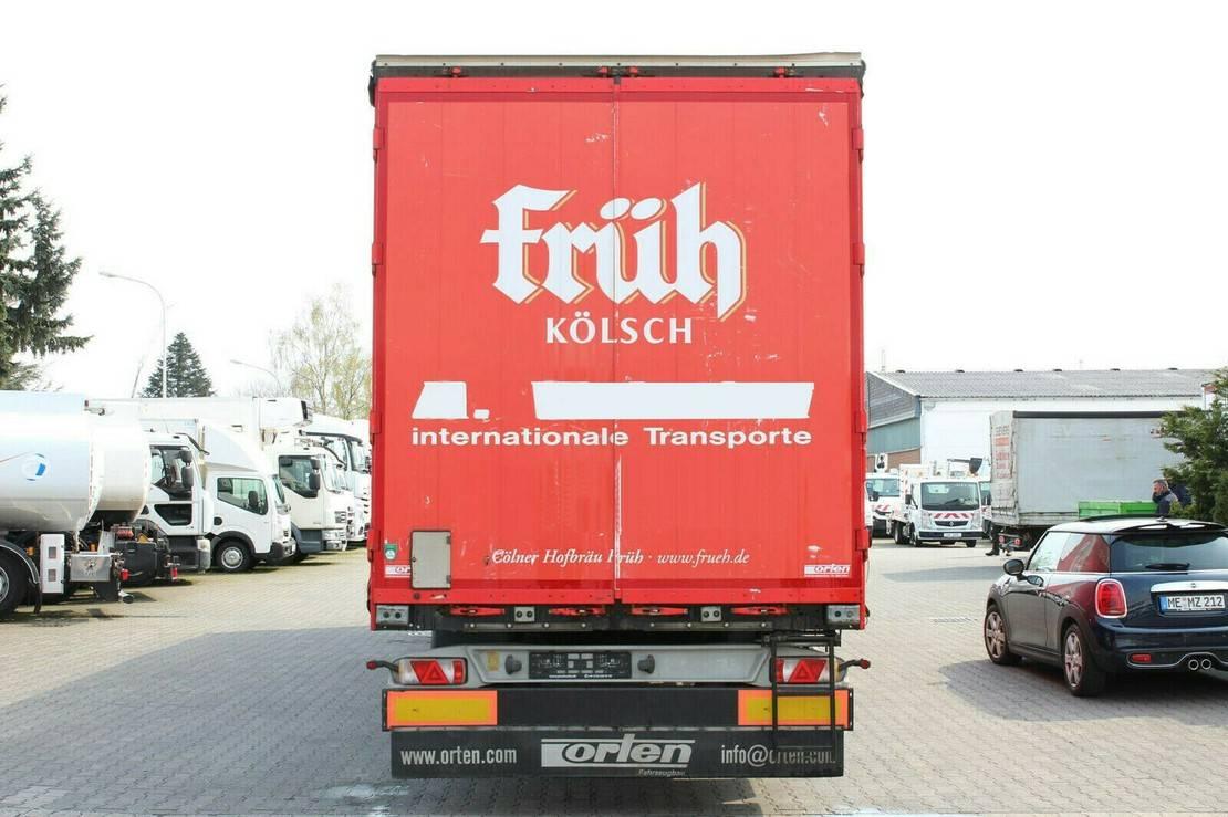 huifzeil oplegger Kögel Standard/Edscha/Speed curtain/Fast slider/LaSi 2014