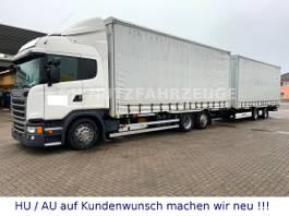 wissellaadbaksysteem vrachtwagen Scania G410 HIGHLINE BDF 7,70 + KRONE TANDEM 2016