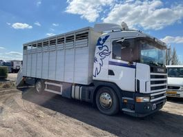 veewagen vrachtwagen Scania 124.420 manual retarder  (Livestock) 2003