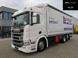 schuifzeil vrachtwagen Scania R 410 / Retarder / Lenk-Liftachse