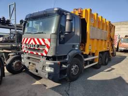 vuilniswagen vrachtwagen Iveco 310 Stralis 6x2/4 VDK Wastecollector / Müllwagen / Benne Ordures 2008