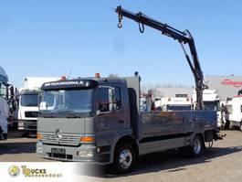 platform vrachtwagen Mercedes-Benz Atego 1223 + Manual + Hiab 052-2 1999