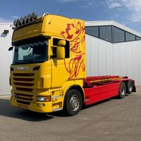 containersysteem vrachtwagen Scania NCH Containerauto R560 2011