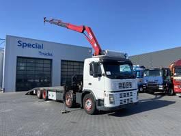 oprij vrachtwagen Volvo FM 440 8x2 Oprijwagen + HMF 1220 K3 2006