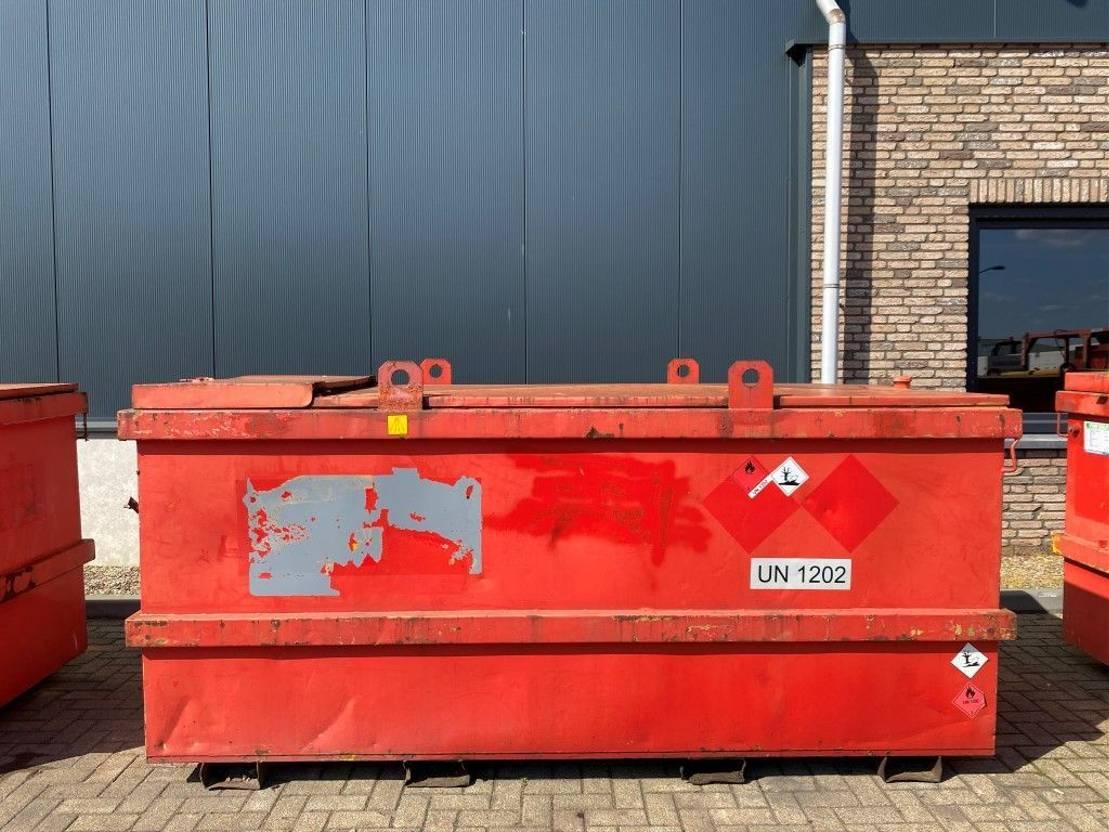 IBC-intermediate bulk container Kiwa IBC Jacobi 3000 liter Dieseltank met keuring 1998
