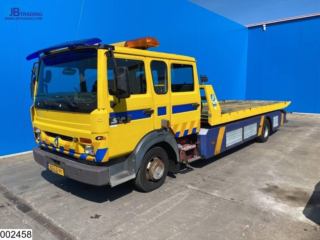 takelwagen-bergingswagen-vrachtwagen Renault S 180 EURO 2, Manual, Steel Suspension, Winch 1997