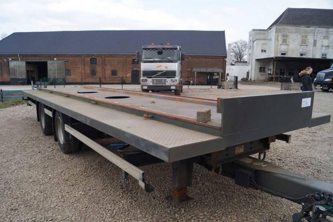 container chassis aanhanger Krone 2-assige aanhangwagen 2008
