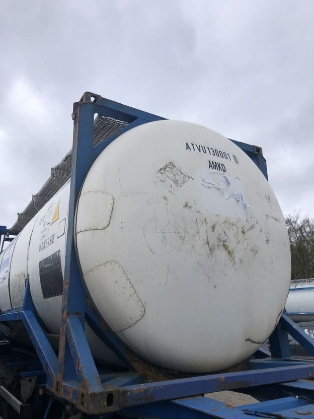 tankcontainer Welfit Oddy Tankcontainer 30cbm 1999