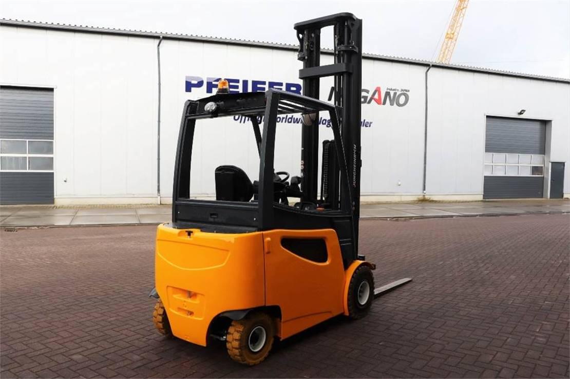 vorkheftruck Jungheinrich EFG425K Valid inspection, *Guarantee! Electric, Li 2015