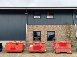 IBC-intermediate bulk container Kiwa IBC Van Der Ziel 1000 liter Kiwa IBC dieseltank 2007