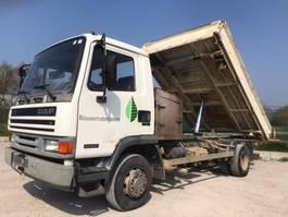 kipper vrachtwagen > 7.5 t DAF LF 45 160 TI       3 side tipper 1995
