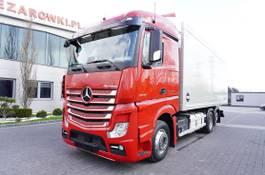 koelwagen vrachtwagen Mercedes-Benz Actros 2545 , E6 , 6x2 , 18 EPAL , retarder , lift axle , Stream 2018
