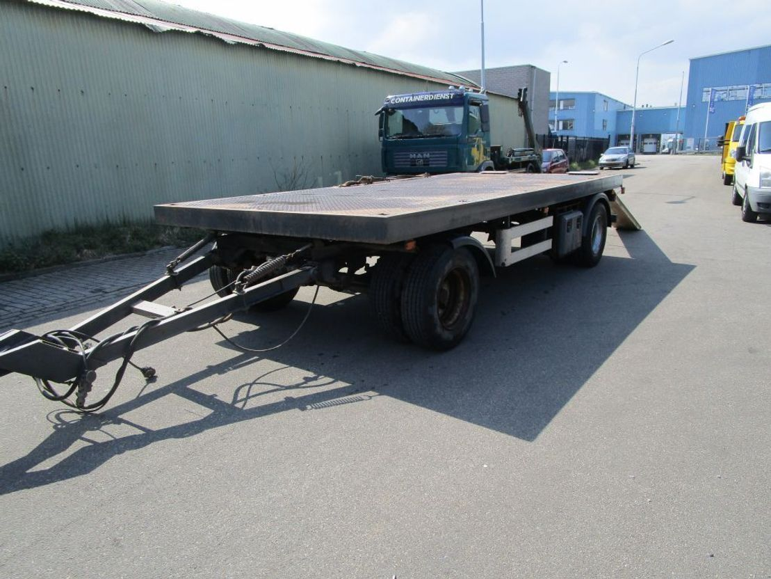 platte aanhanger vrachtwagen ROHR 2 Assige Rohr aanhanger 1999
