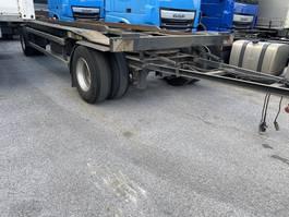 overige vrachtwagen aanhangers Huffermann HAR 1870, BPW, Abrollanhänger 1997