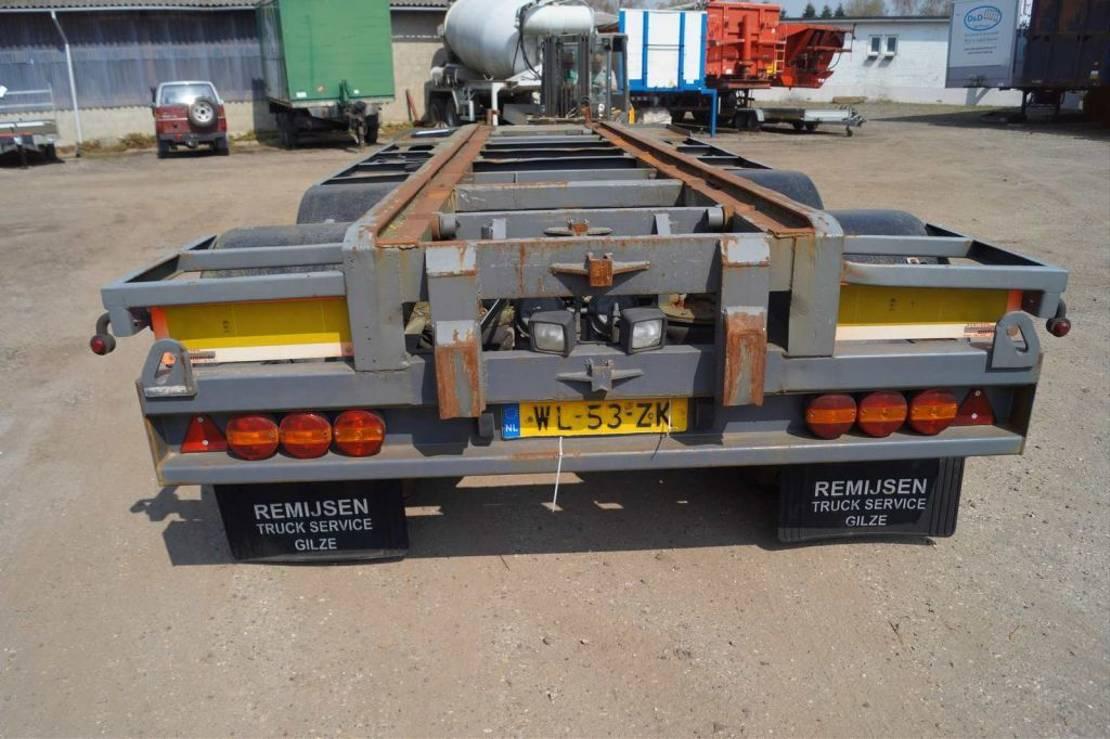 container chassis aanhanger Floor 3-assige aanhanger 1994