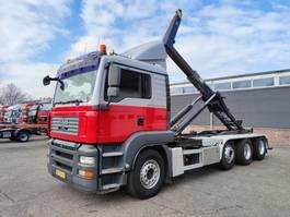 containersysteem vrachtwagen MAN TGA 39.440 LX 8X2/4 Euro4 - Manual - Hyvalift 30T - Rockinger - 10/2021 APK ... 2007