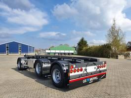 container chassis aanhanger GS Meppel AIC-3000 N  -  NIEUW  -  VOORRAAD 2021