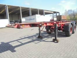 container chassis oplegger Burg BPO 12-18 C 1989