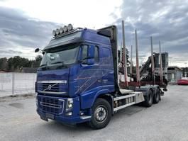 houttransporter vrachtwagen Volvo FH16 6x4, Euro 5 EEV, Retarder, + Loglift 96S, 2013 2013