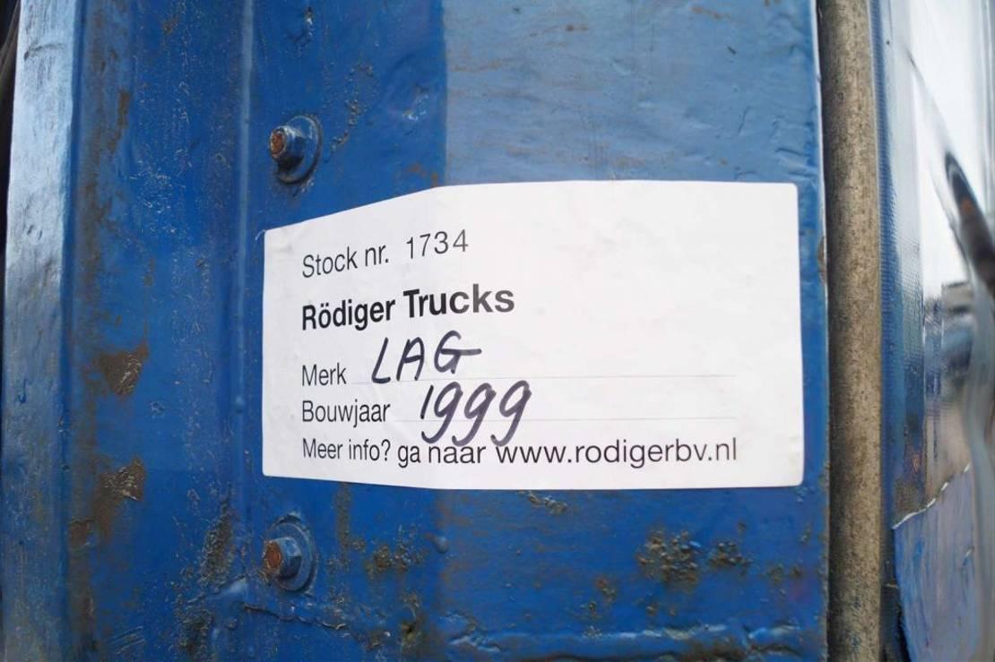 schuifzeil oplegger LAG 3-assige oplegger 1999