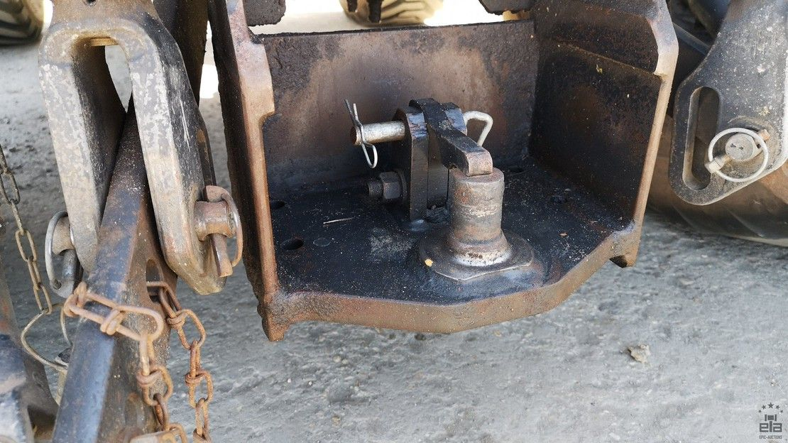standaard tractor landbouw Deutz Agroplus 320 2013