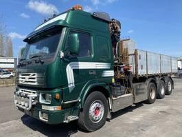kipper vrachtwagen > 7.5 t Volvo FM12 8X4 TIPPER + HMF 2223 K5 MET REMOTE 2001