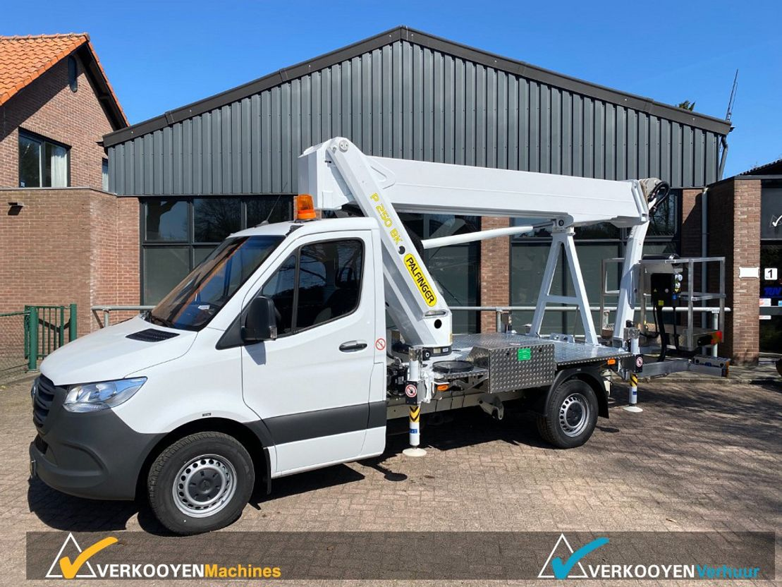autohoogwerker vrachtwagen Mercedes-Benz Palfinger P250BK Autohoogwerker 25mtr 2020