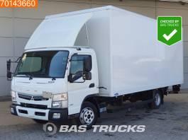 bakwagen vrachtwagen Mitsubishi Fuso 7C18 4X2 Manual Ladebordwand Steelsuspension Euro 6 2017