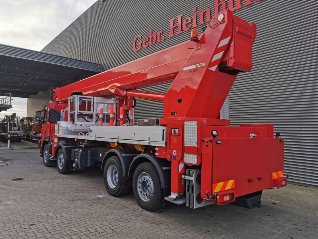 autohoogwerker vrachtwagen Volvo FM 400 8x2 Wumag Palfinger WT 530 Euro 5 53 meter! 2009