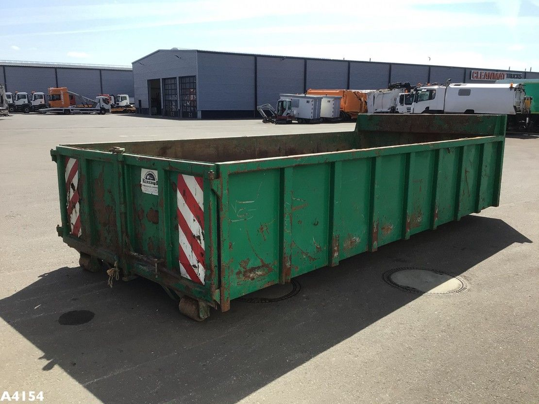 open top zeecontainer Diversen Container 12m3 2010