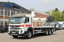 kraanwagen Volvo FMX 410 8x4 VEB+/Plattform 8m/Kran Hiab 15m/Funk 2012