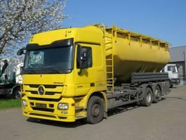 tankwagen vrachtwagen Mercedes-Benz Actros 2544 L6x2 Silo 31.000ltr, Lift/Lenk 2011