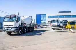 betonmixer vrachtwagen Renault Kerax 420 DCI+TAPIS/BAND 2003