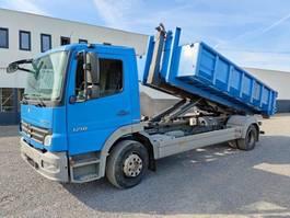 containersysteem vrachtwagen Mercedes-Benz Atego 1218 Containerhaaksysteem Euro4 2008