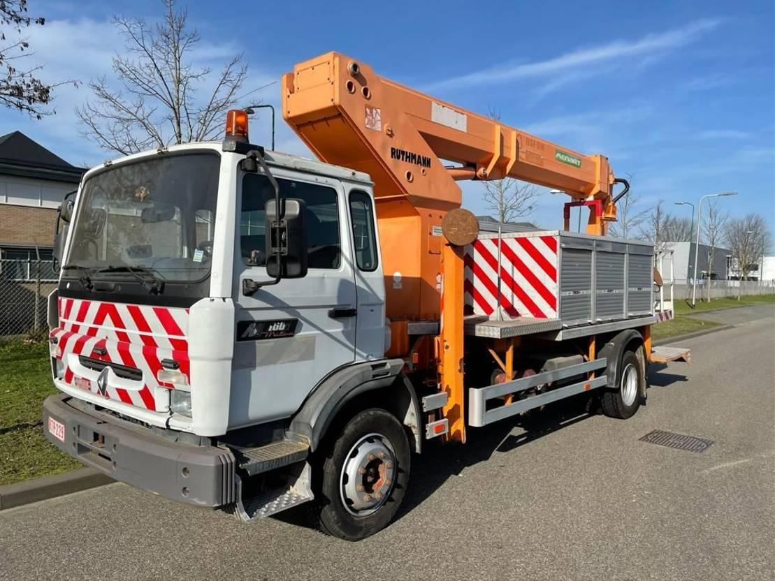 autohoogwerker vrachtwagen Renault Midlum 180 40 ACJ2  RUTHMANN T225 1999