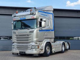standaard trekker Scania R520-V8 R520 6x2 Highline PTO / Hydrauliek 2014