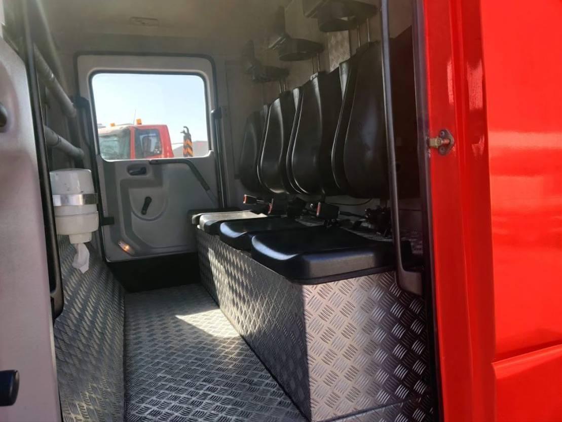 brandweerwagen vrachtwagen Mercedes-Benz 1325 F 4X2 Feuerwehr / Firetruck / Pompiers -2000L Tank - Ziegler Pump 2002
