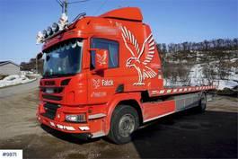 takelwagen-bergingswagen-vrachtwagen Scania P320 tow truck 2017