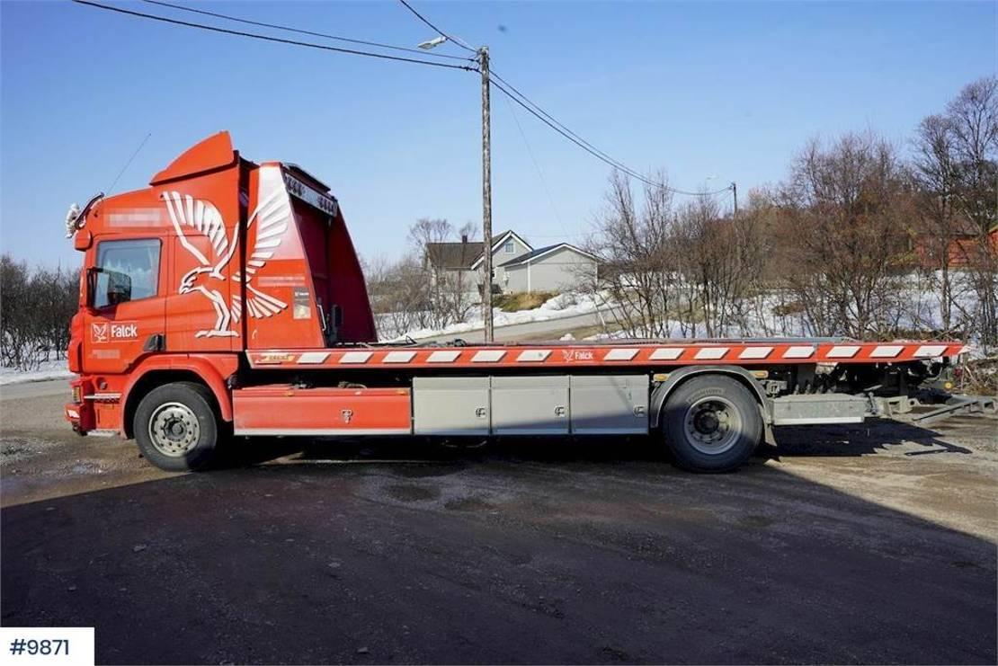 takelwagen-bergingswagen-vrachtwagen Scania tow truck 2017