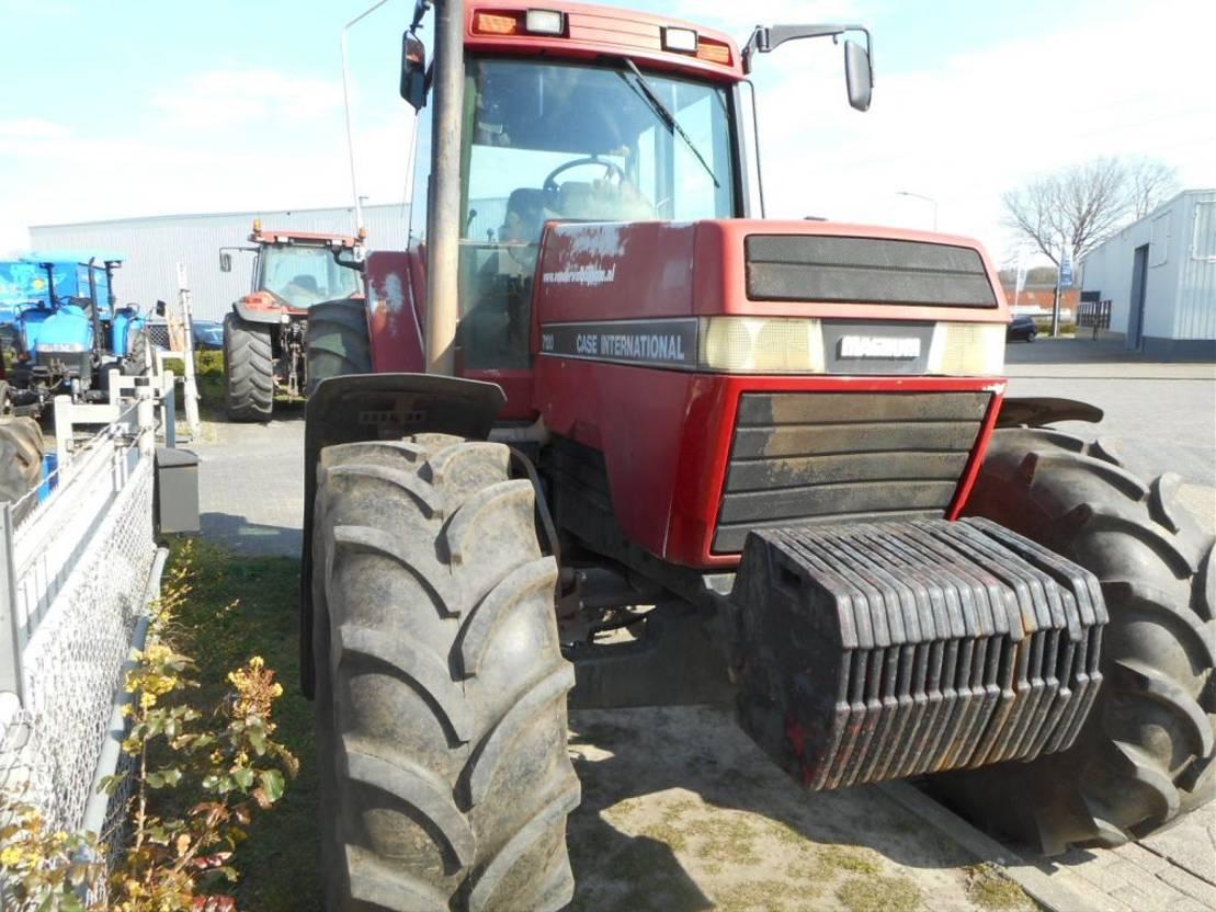 standaard tractor landbouw Case magnum 7120 1994