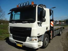 oprij vrachtwagen DAF 75/250 pk/6x2/hiab 102-1/lier 75 cf 2009