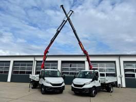 kipper bedrijfswagen Iveco HMF 340-K3 DAILY 72C18 MEILLER KIPPER KRAN FUNK GREIFERSTR  NEUFAHRZEUG 2021