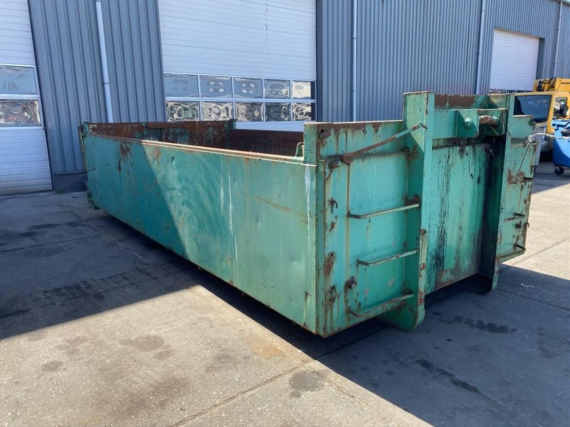 open top zeecontainer Diversen CONTAINER - LBH: 522X240X100 CM