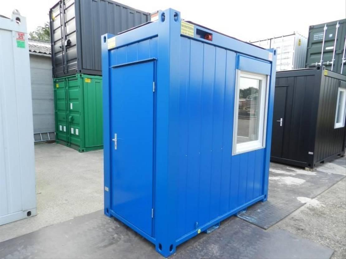 geisoleerde zeecontainer Diversen 1,4 x 2,4m - 5ft Bureaucontainers