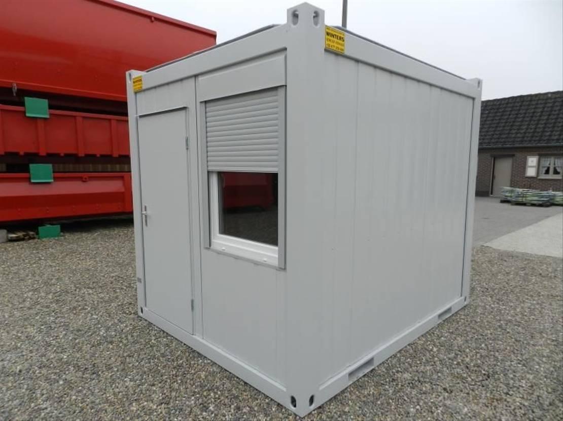 geisoleerde zeecontainer Diversen 3 x 2,4m - 10ft Bureaucontainers