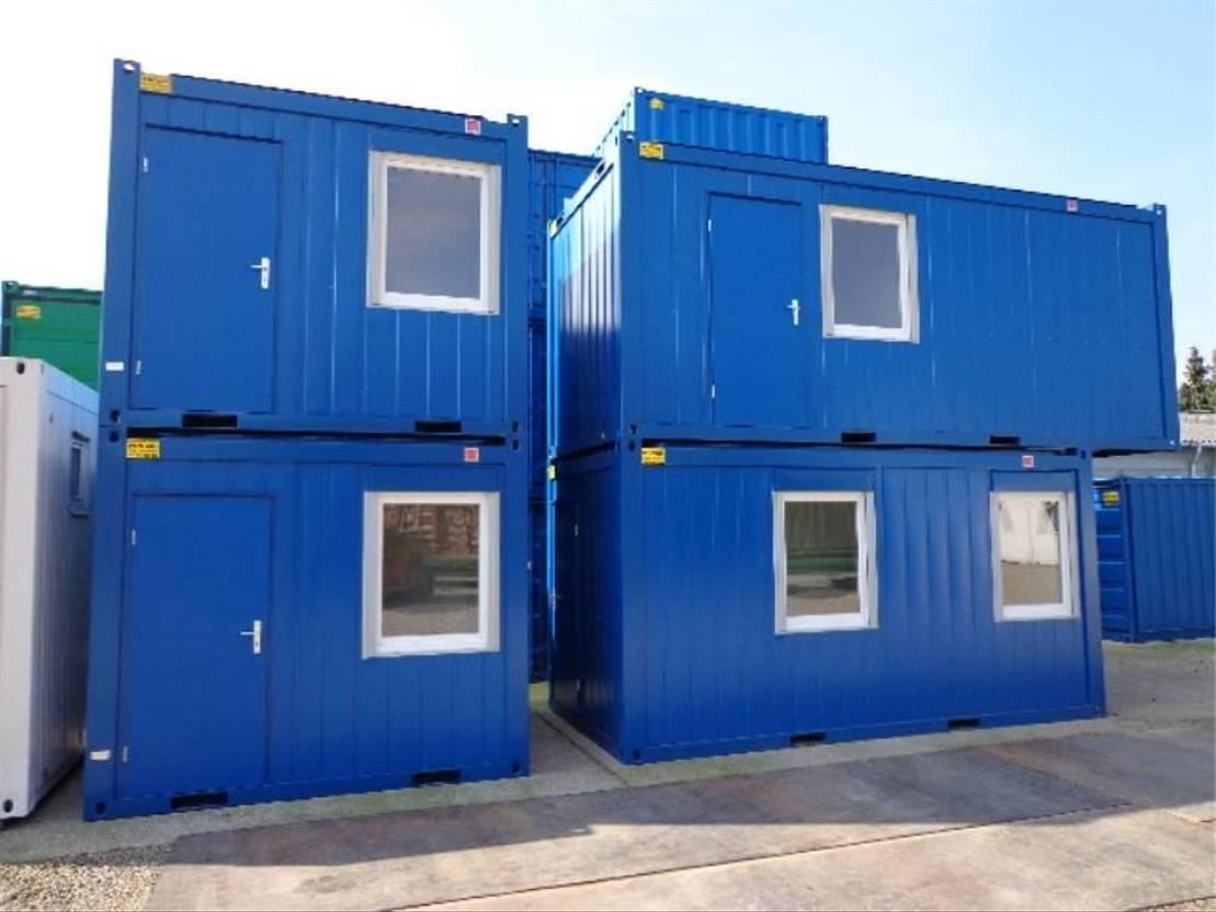 geisoleerde zeecontainer Diversen 4,9 x 2,4m - 16ft Bureaucontainers