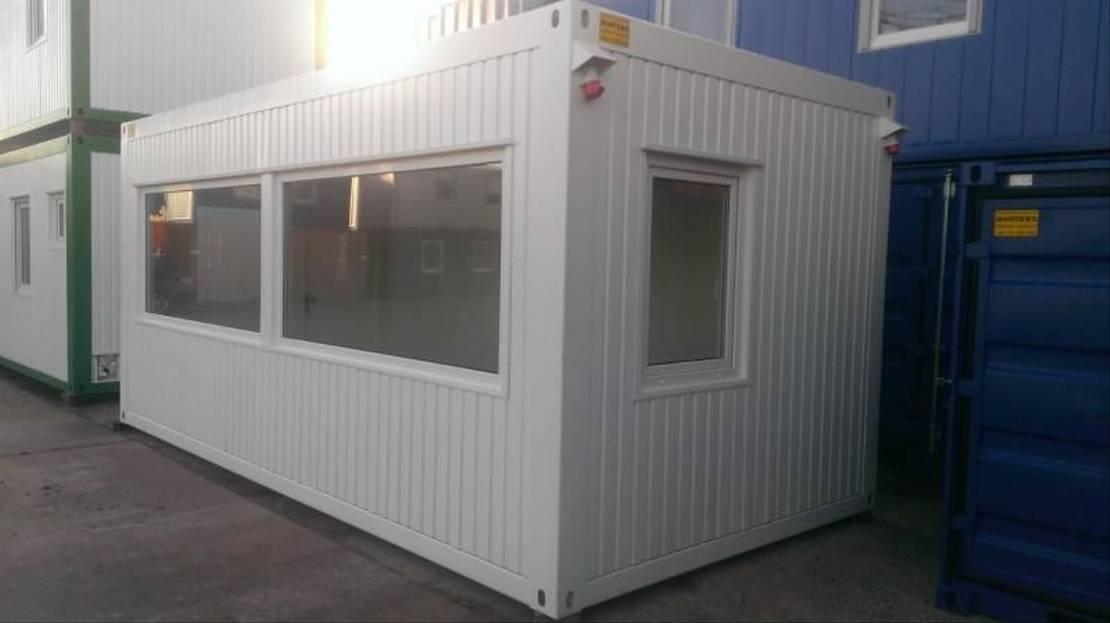 geisoleerde zeecontainer Diversen 6 x 3m Bureaucontainers