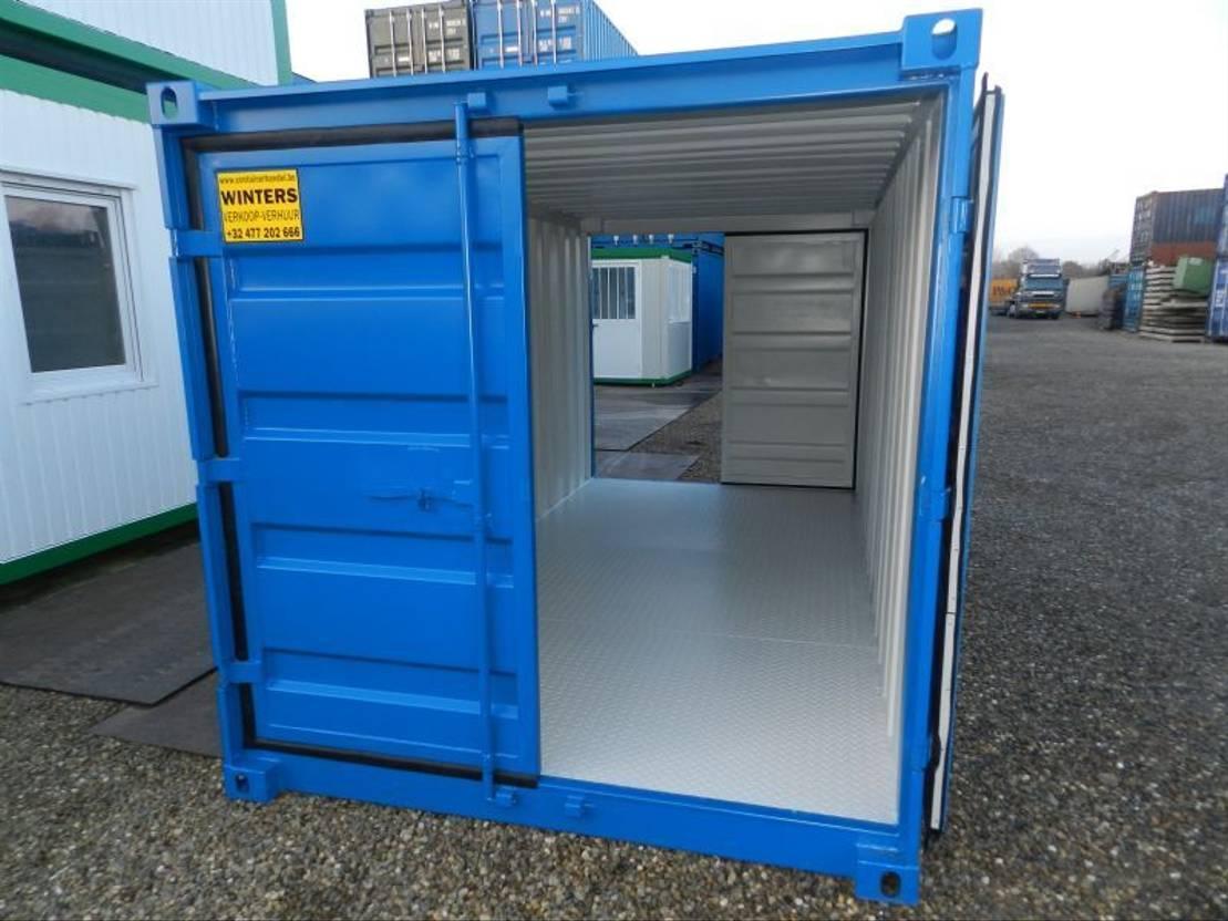 dry standaard zeecontainer Diversen 15ft Opslagcontainers 15ft
