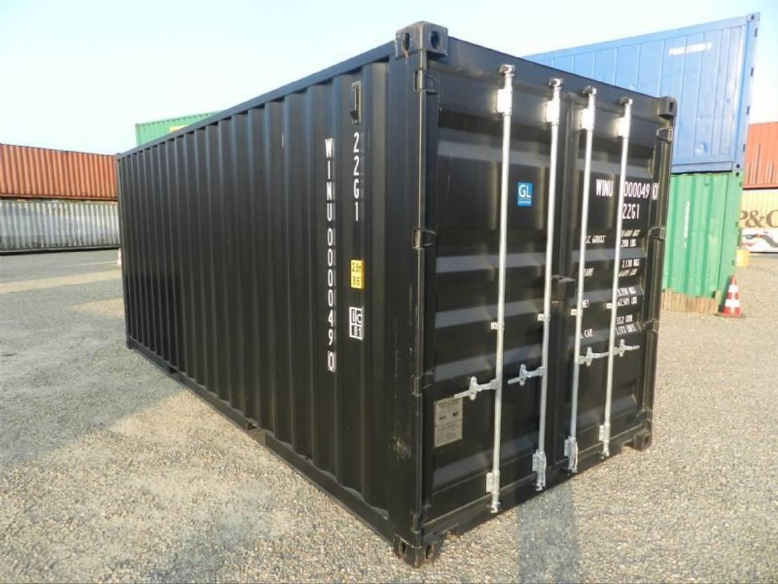 dry standaard zeecontainer Diversen 20ft Dry box