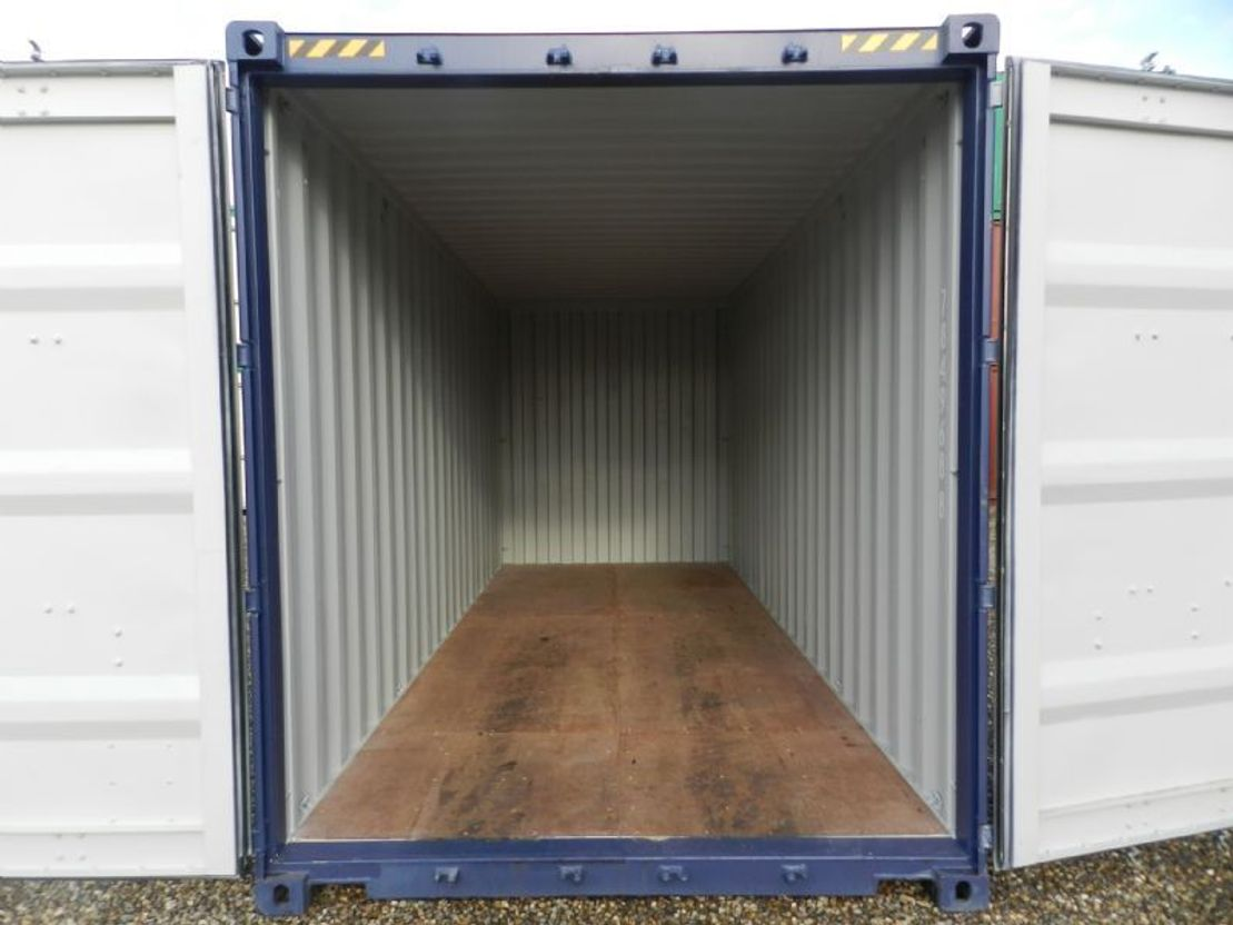 dry standaard zeecontainer Diversen 20ft High Cube